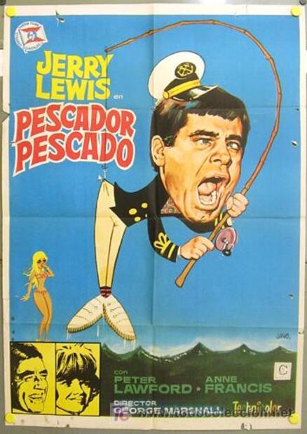 CRAMPONNE TOI JERRY - JERRY LEWIS BOX OFFICE 1969