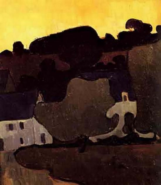 Mogens Ballin, Paysage Breton
