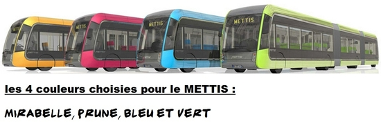 mettis couleurs