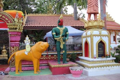 Le Vat Si Muong à Vientiane