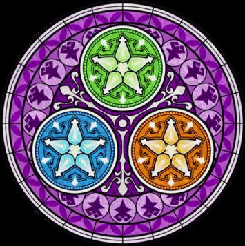 Plateforme du Palier de l'éveil, mandala kingdom hearts