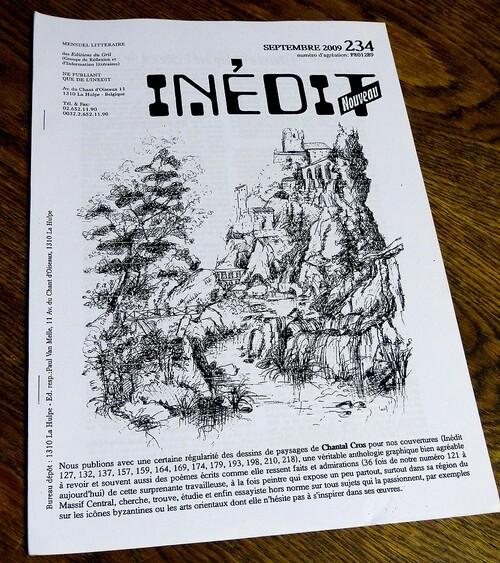 Revue INEDIT Nouveau. 2009/2010