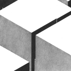 """cité n°3"", dessin, vertige, architecture, ville, anabelle soriano"