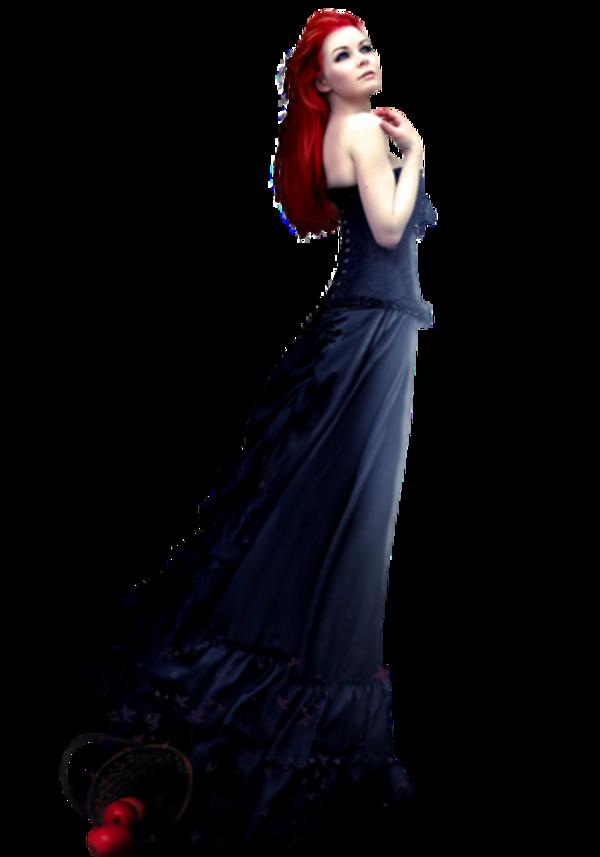 Femme robe de soirée