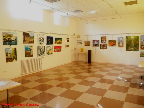 Les peintres des Amis du Châtillonnais ont exposé à Is sur Tille...