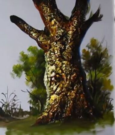 Dessin Et Peinture  Vido   Comment Peindre Branches Et Troncs