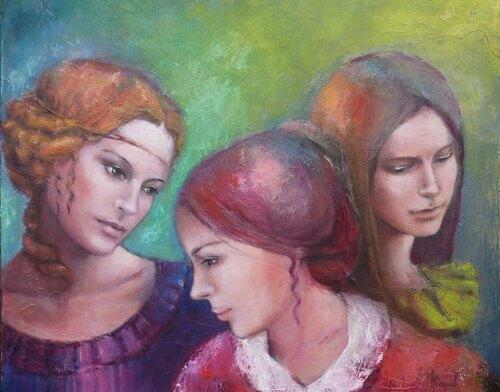 10 - Trois soeurs en peinture au 20 eme siècle