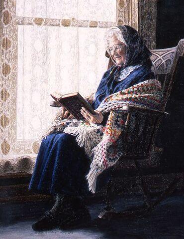 03 - Les vieilles dames et la peinture au 20 ème siècle
