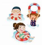 -Le groupe des moyens à la piscine (2019)
