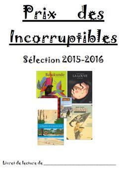 Incos 2016: les couvertures du livret élève