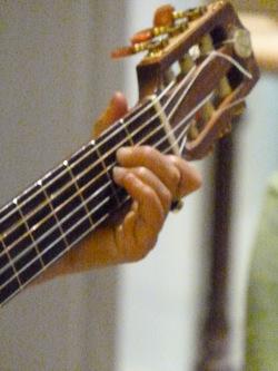 Bhajans - manche guitare
