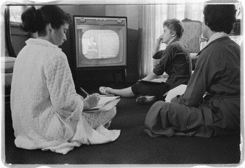 Les femmes et la télé
