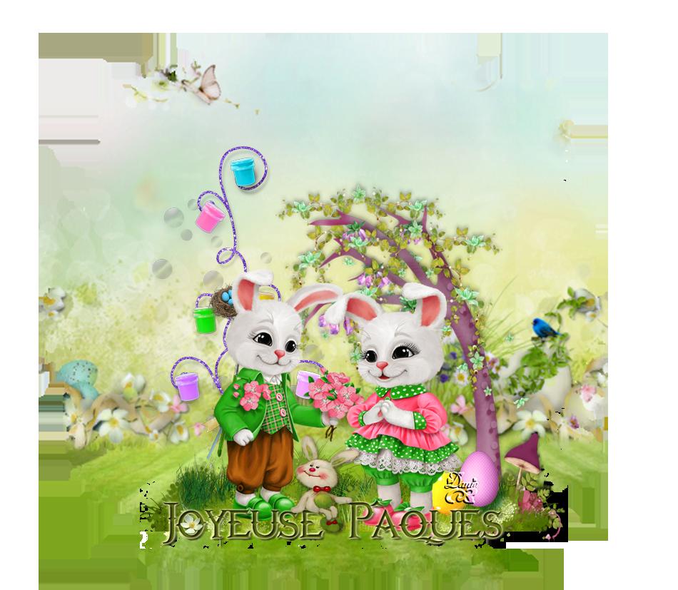 Joyeuses fêtes de Pâques ... Amitié