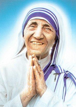 Bienheureuse Teresa de Calcutta, religieuse fondatrice de la Congrégation des Missionnaires de la Charité († 1997)