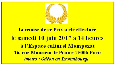Prix Émile  Littre
