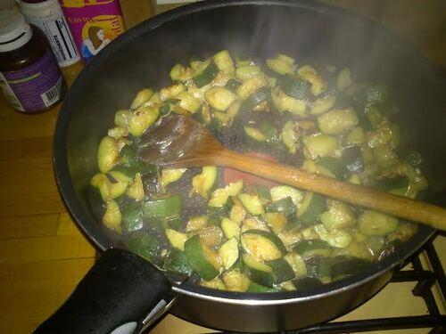 Chaussons courgettes/brie...repas simple et efficace