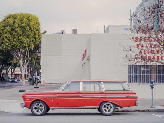 parked cars par Franck Bohbot