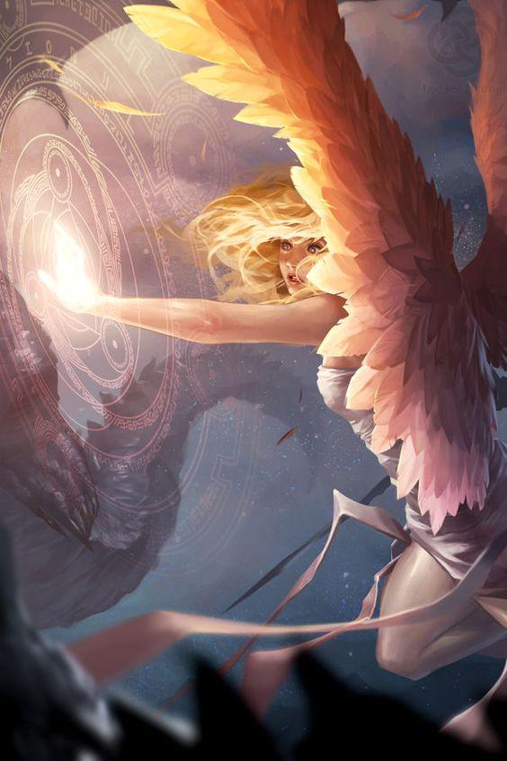 Angel fantasy art: