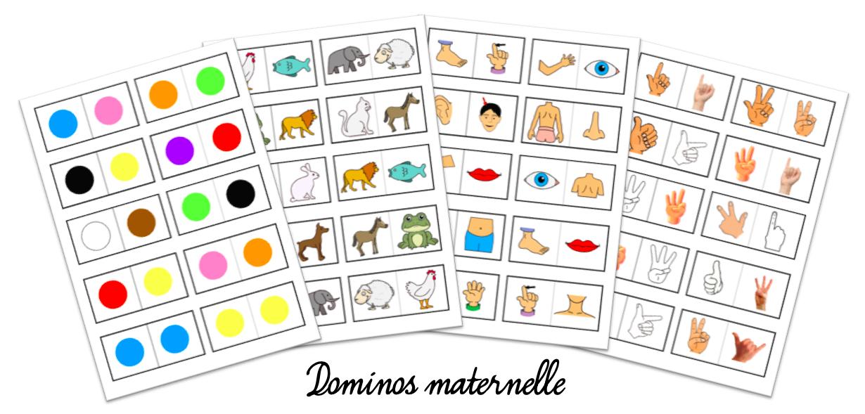 Dominos pour la maternelle