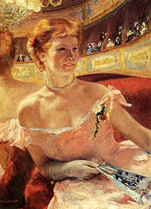 Mary Cassatt - Woman with a Pearl Necklace