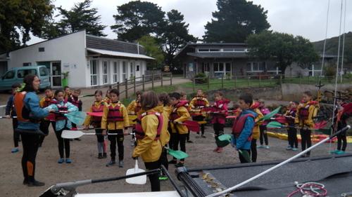 Premier jour en classe de mer