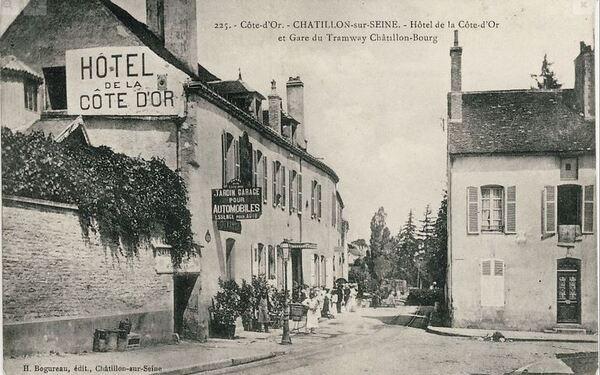 Souvenirs de Pierre Roy : un voyage en tramway d'Aisey sur Seine à Châtillon....