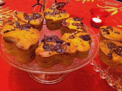 Recette de Muffin de potiron!