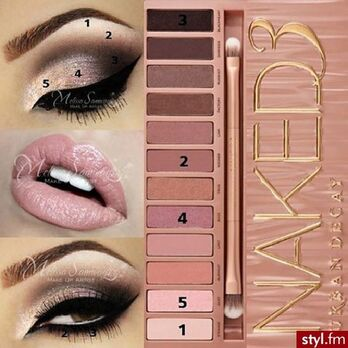 Naked 3 Tutorial  Didn't think I would love it. Absolutely do! A must have palette by Urban Decay.: