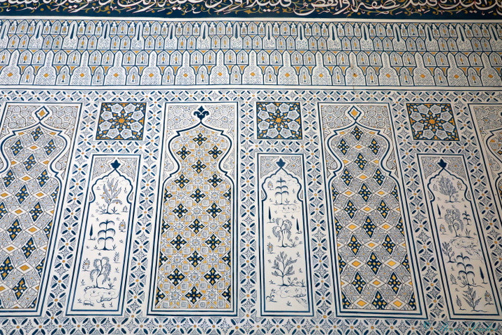 La gigantesque mosquée Bibi Khanoum érigée par Tamerlan, Samarcande