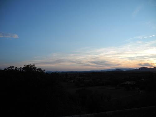 Labastide de Virac le soir