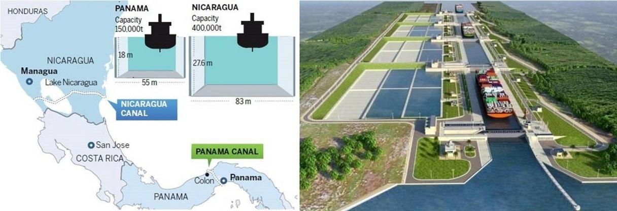 UN CANAL POUR CONCURRENCER LE CANAL DE PANAMA