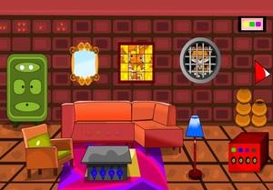 Jouer à Decorated room escape
