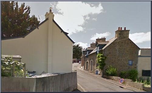 Rue du champ des nues . Source Google Maps Quartier de Saint Brieuc