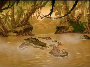 2003 -The Land Before Time X: The Great Longneck Migration (Le Petit Dinosaure vol10 Les longs cous et le cercle de lumière)