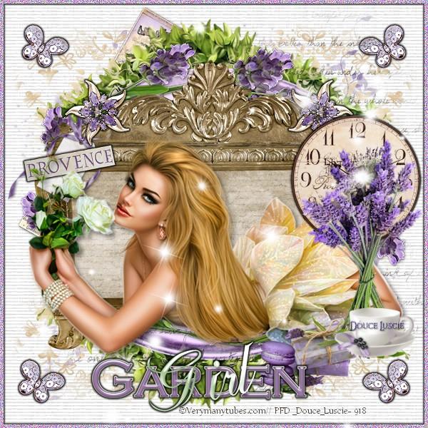 Tuto Garden girl