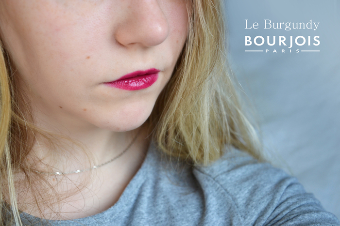 Le burgundy selon Bourjois Paris