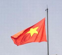 Vietnam drapeau