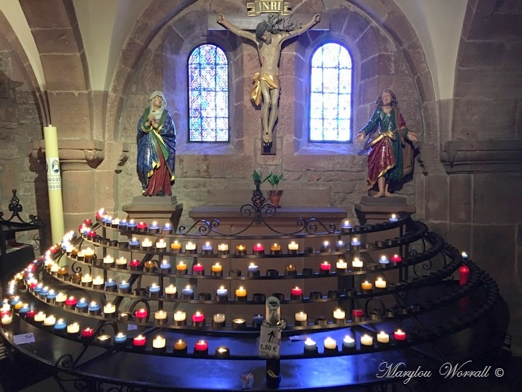 Mont Sainte-Odile : Tombeaux et chapelle de la Croix