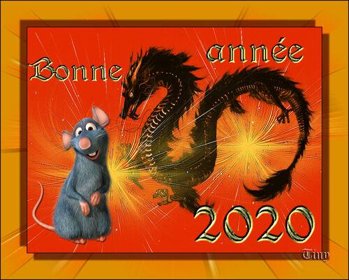Nouvel an chinois année du rat