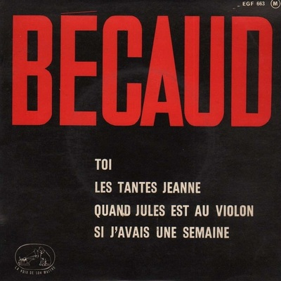 Golbert Bécaud, 1963