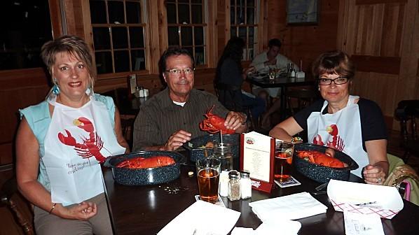 Bar Harbor resto homard