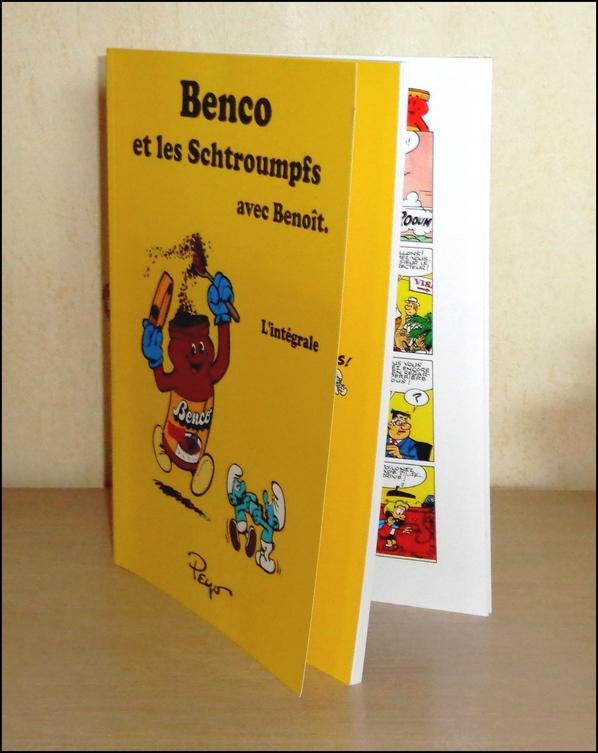 Benco, les Schtroumpfs et Benoît