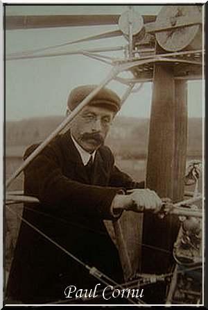 13 Novembre 1907 : Premier vol d'un hélicoptère.