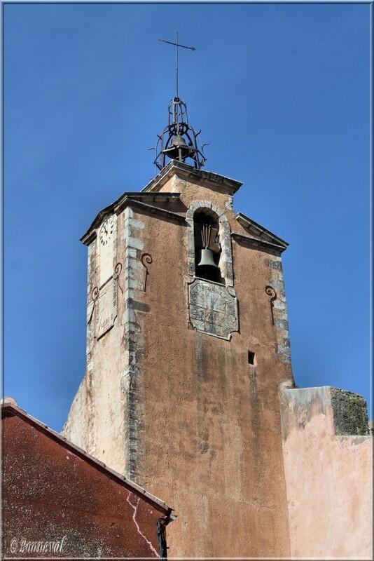 Campanile Beffroi Roussillon Vaucluse