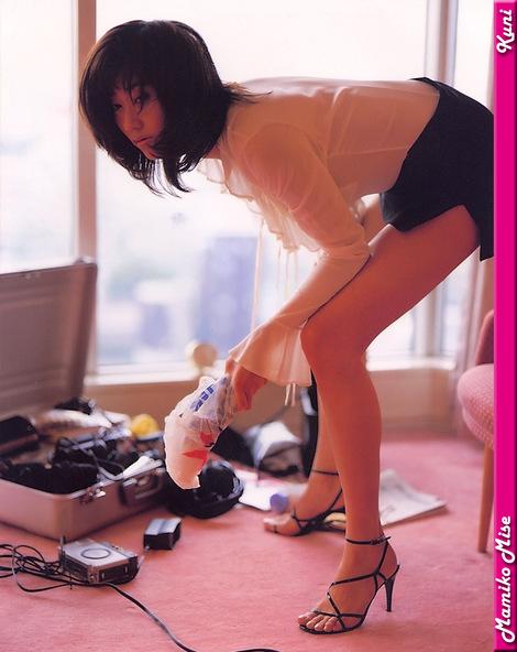 Model Collection : ( [KUNI Scan] -  vol.1  Mamiko Mise/三瀬真美子 )