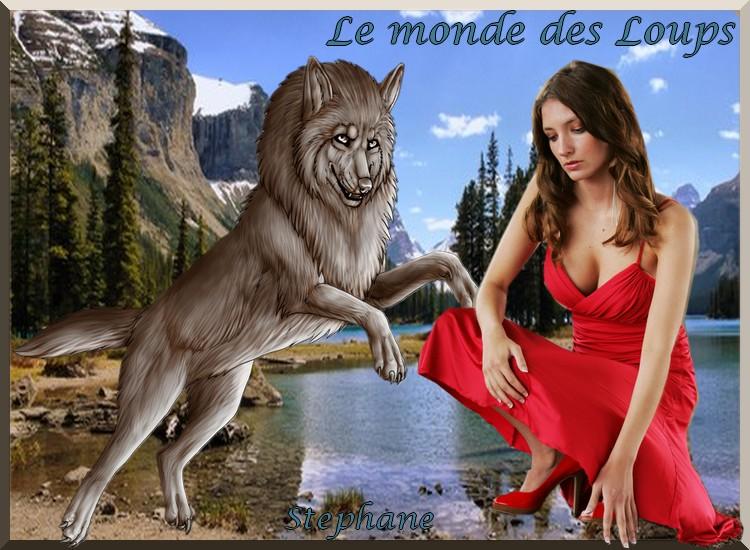 Défi fée capucine , Le monde des loups !!!