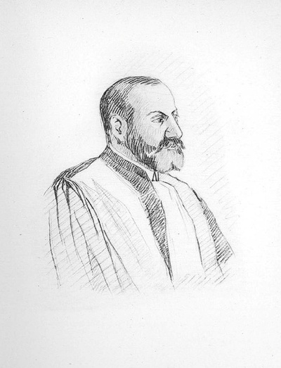 Professeur René Cassin (gravure 1932)