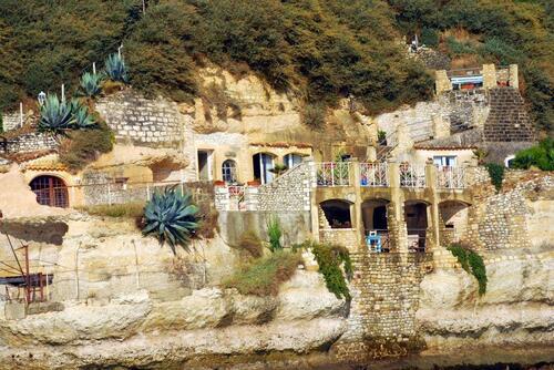 Grottes habités à Meschers