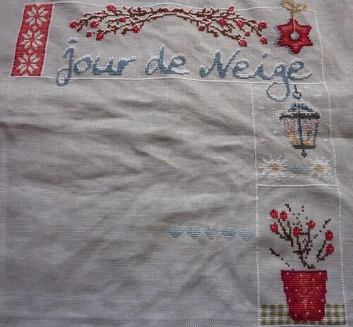"Sal ""Jour de neige"" de Madame la fée."