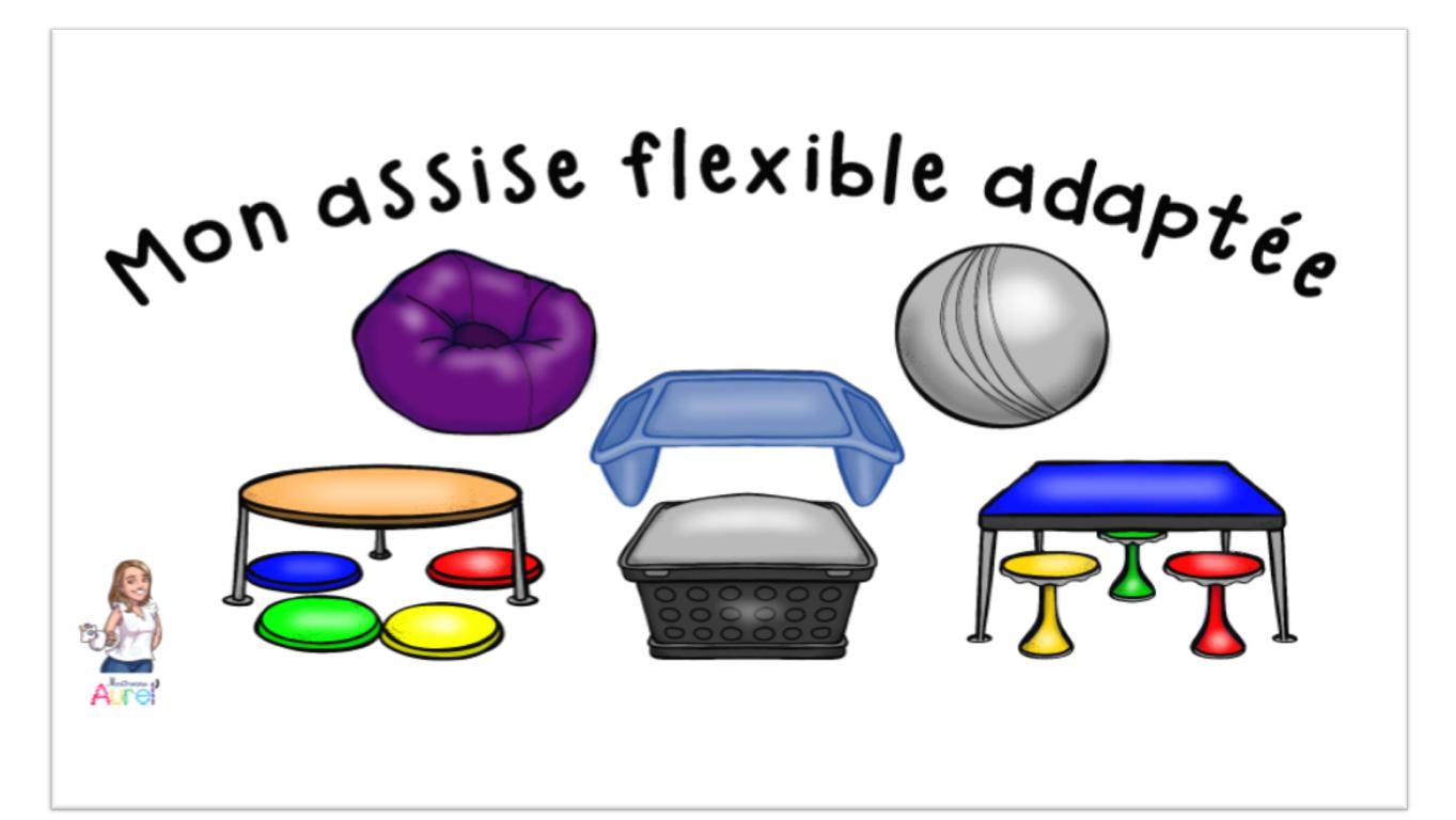 Mon Assise Flexible Adaptee Maitresse Aurel